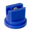 ISO Size 03 Blue 80° Multi Range Flat Spray Nozzle with SS Insert