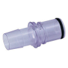 "1/4"" In-Line HB MPC Series Polycarbonate Coupling Insert (Sold Individually)"