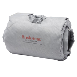"BriskHeat® Insulator for 3-Way Control Valve OD Size 3"" to 4"""