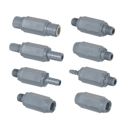 SMC 426 Series PVC Check Valves for Air or Liquid