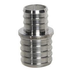 "1"" PEX x 3/4"" PEX Stainless Steel Reducer Coupling"