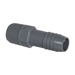 "1/2"" MNPT Polypropylene Adapter"