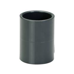 "1"" Schedule 40 Gray PVC Socket Coupling"