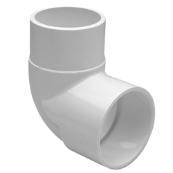 Schedule 40 Value PVC Socket x Spigot 90° Street Elbows