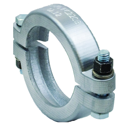 """2"""" Full Port Bolted Flange Clamp (150 in-lbs. Torque)"""