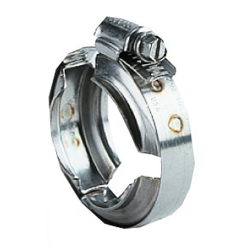 "2-5/8"" ID 200 Series Worm Screw Clamp (90 - 100 in/lbs Torque)"