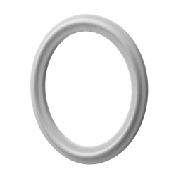"1"" White Buna-N Tri-Clamp Gasket"