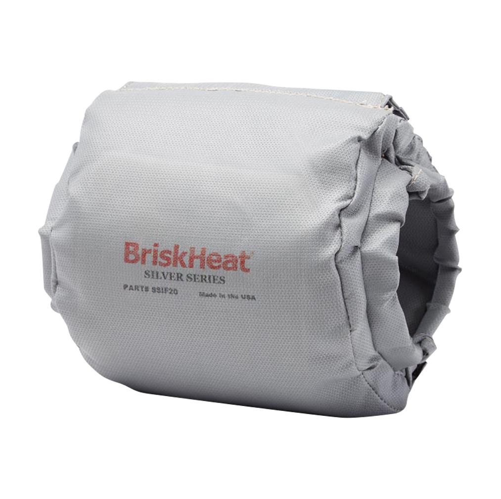 """2-1/2"""" Flange (Max. Dia. 6-1/2"""") BriskHeat® Insulator"""