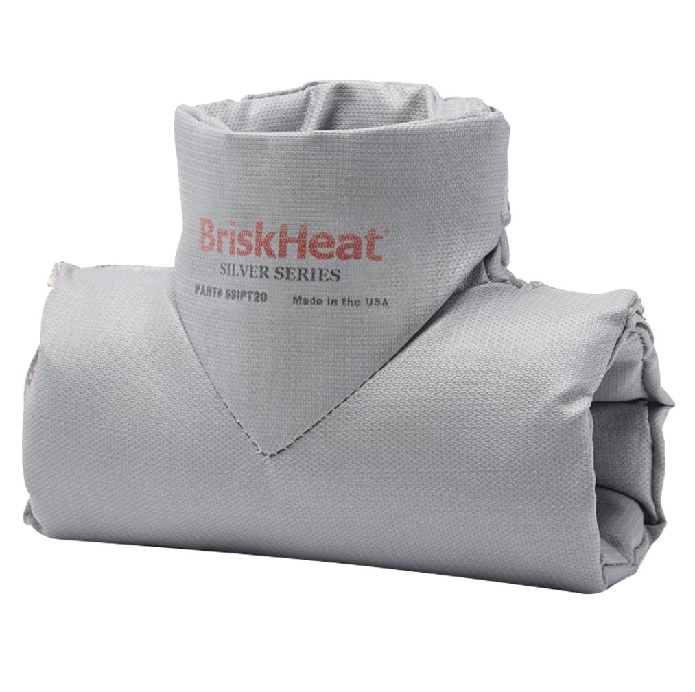"BriskHeat® Insulator for Tee OD Size 2"" to 3"""