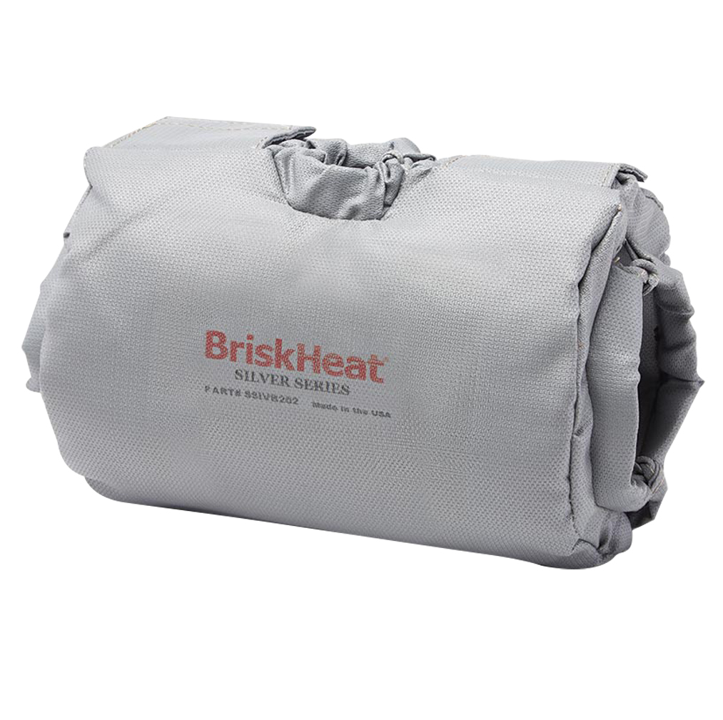 "BriskHeat® Insulator for 2-Way Control Valve OD Size 3"" to 4"""