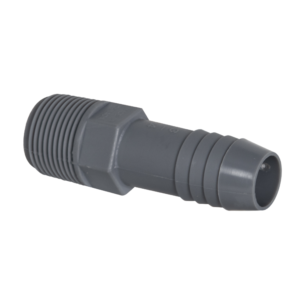 "1-1/4"" MNPT Polypropylene Adapter"