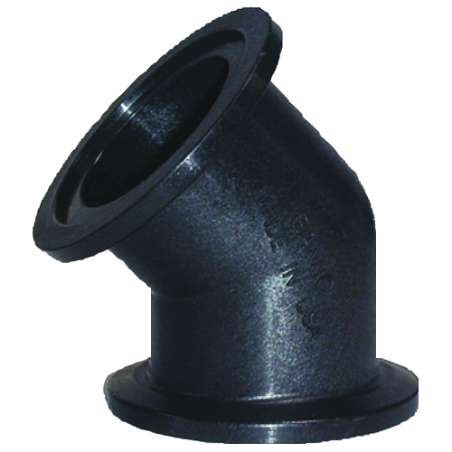 "2"" x 2"" 45° Full Port Flanged Coupling"