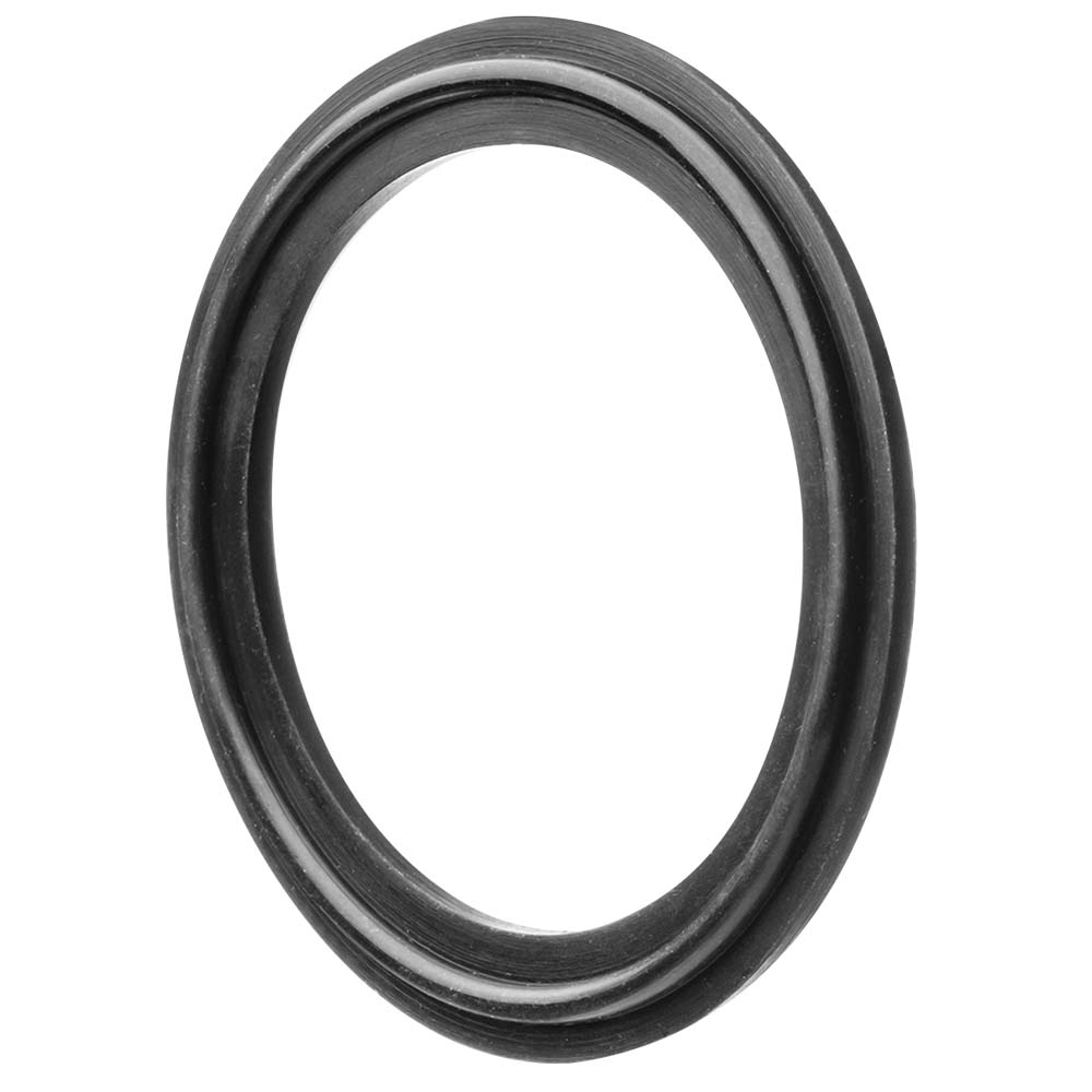 "4"" Black Buna-N Tri-Clamp Gasket"