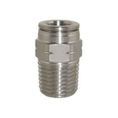 Technifit™ Pneumatic Push-To-Connect Metric Male Straight Fittings