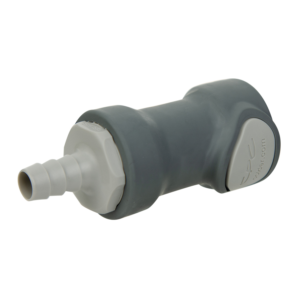 "3/8"" ID Inline PP Non-Spill Hosebarb Body (Insert Sold Separately)"