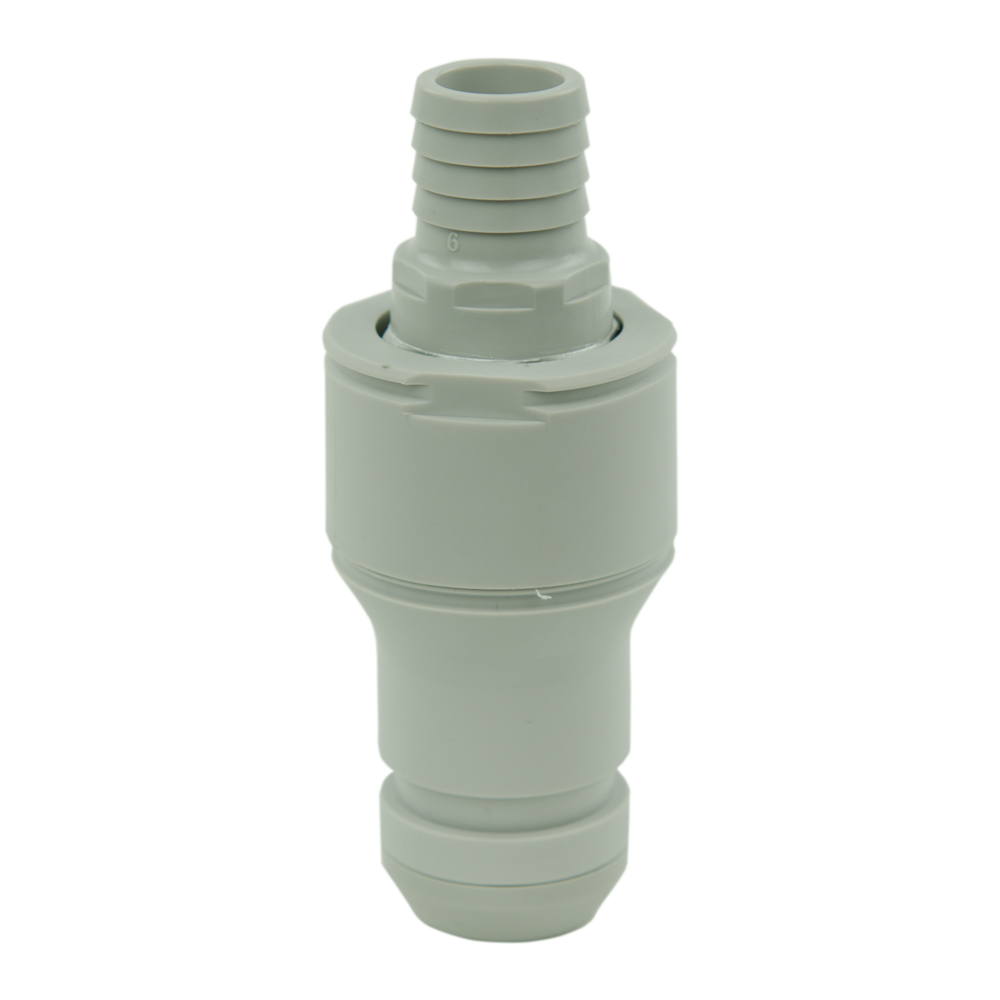 """3/4"""" Hose Barb Valved In-line CPC™ Non-Spill Coupling Insert (Body Sold Separately)"""