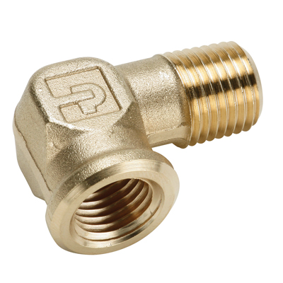 "3/8"" FPT x 3/8"" MPT Brass 90° Street Elbow"