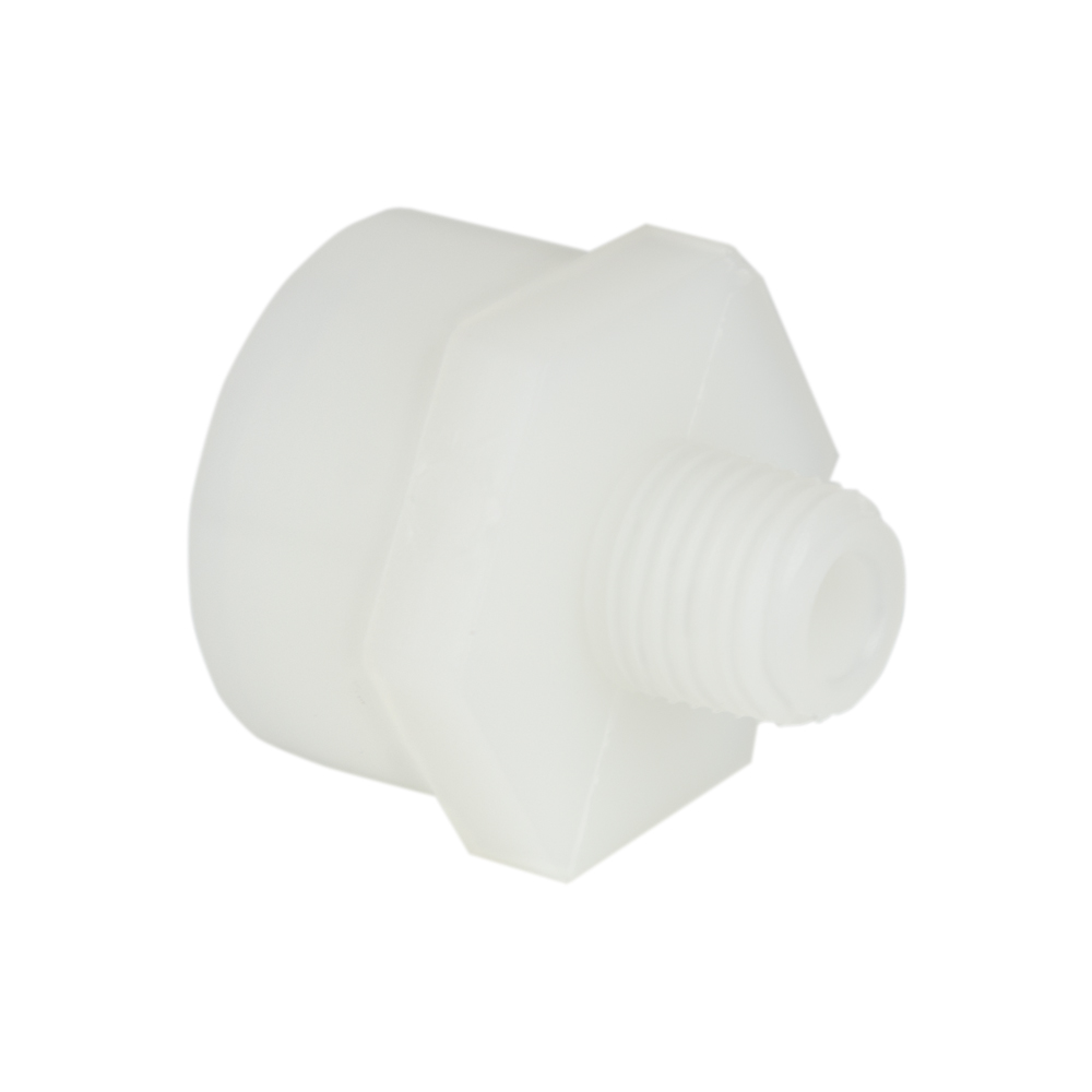 "1/4"" MNPT x 3/4"" FGHT Nylon Adapter"