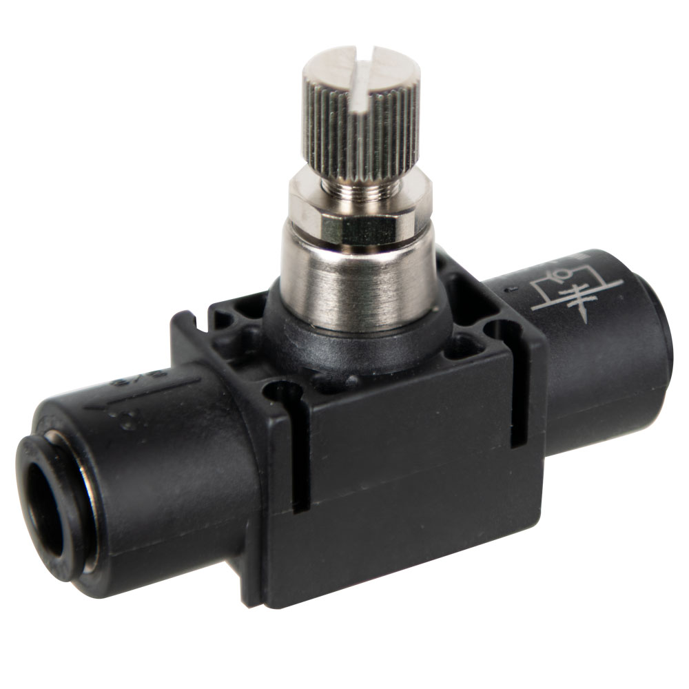 "3/8"" Tube x 3/8"" Tube In-Line Flow Control"