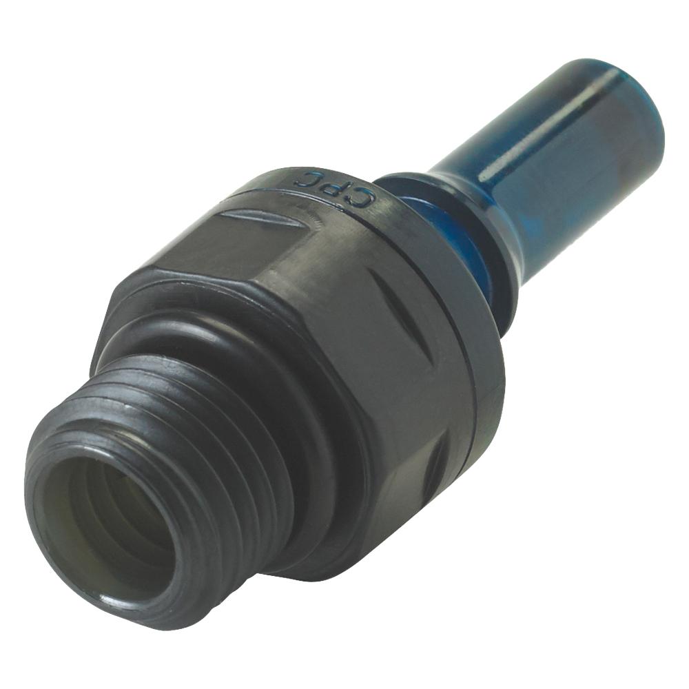 1/4 SAE-4 PLQ2 Polyphenylsulfone Valve Insert - Blue (Body Sold Separately)