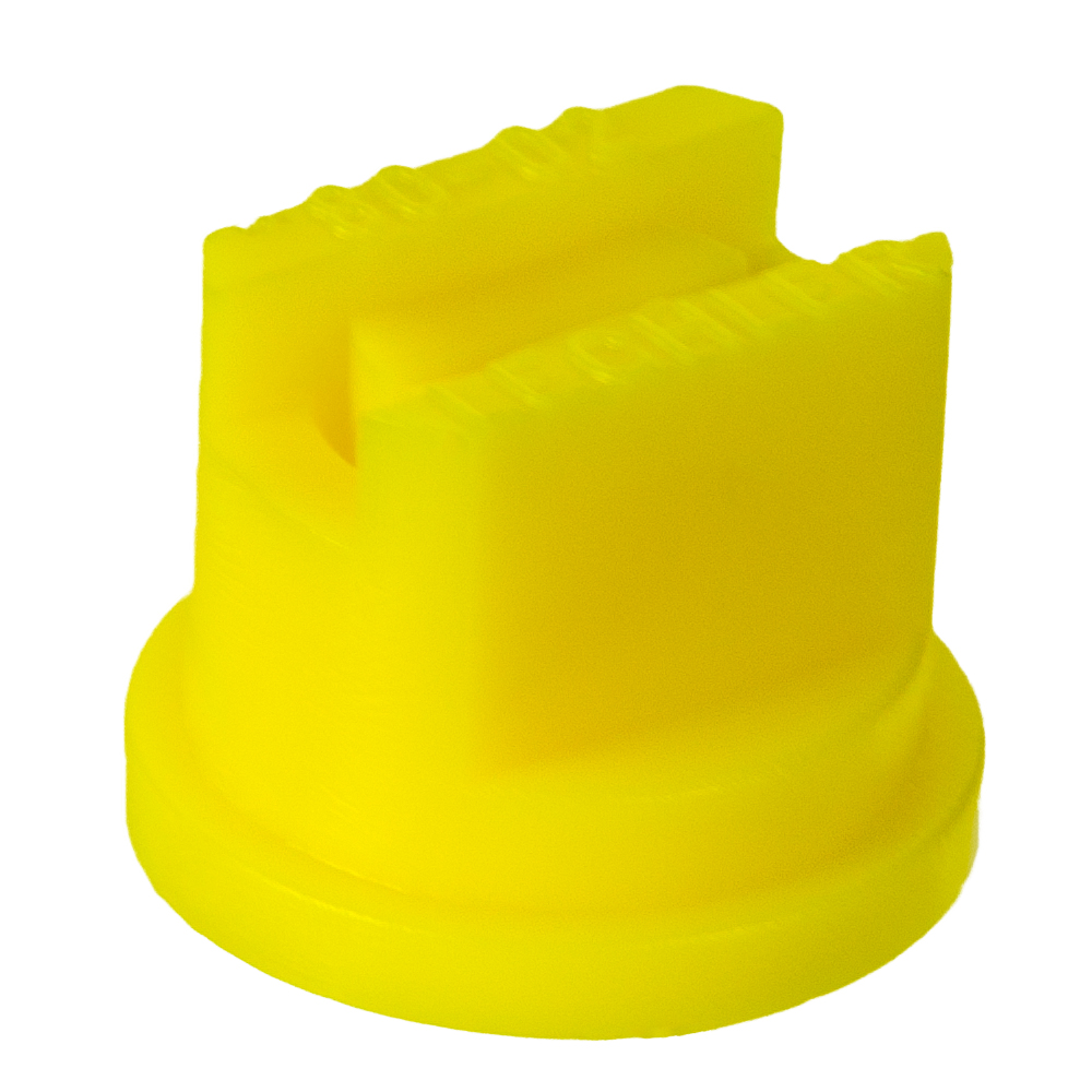 ISO Size 02 Yellow 80° Standard Flat Spray Nozzle