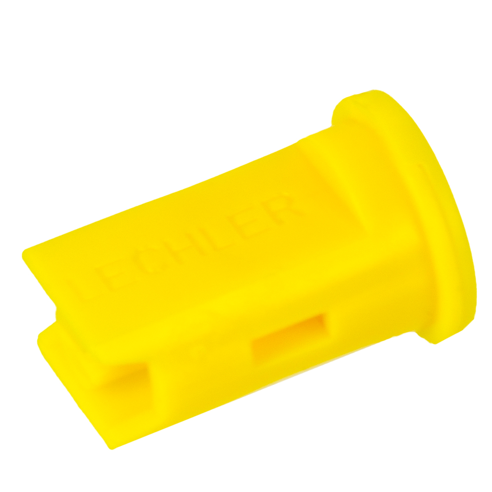 ISO Size 02 Yellow 110° Compact Air Induction Flat Spray Nozzle