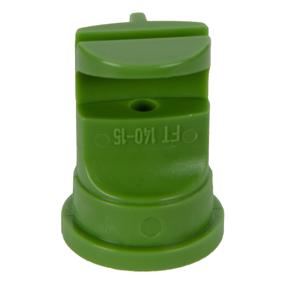 ISO Size 7.5 Green 140° Flood Nozzle