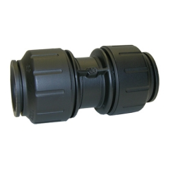 John Guest® Twist & Lock Black UV Union Connectors