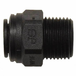 Super Speedfit® Black Polypropylene Male Connectors