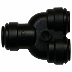 Super Speedfit® Black Polypropylene Two-Way Divider