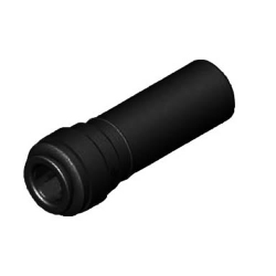 Super Speedfit® Black Polypropylene Plug In Elbow