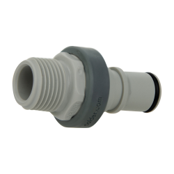 "1/2"" NPT Polypropylene Non-Spill Coupling Insert (Body Sold Separately)"