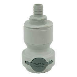 "1/2"" Hose Barb Valved In-Line CPC™ Non-Spill Coupling Body (Insert Sold Separately)"
