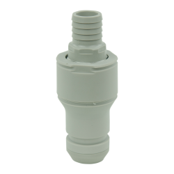 "3/4"" Hose Barb Valved In-line CPC™ Non-Spill Coupling Insert (Body Sold Separately)"