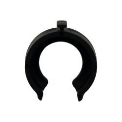 "3/8"" Black Acetal Safety Clip"