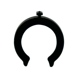 "1/2"" Black Acetal Safety Clip"