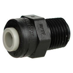 TrueSeal™ Polypropylene Push-In Male Connector