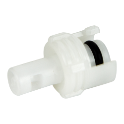 "1/16"" Hose Barb Acetal In-Line Coupling Insert - Straight Thru (Body Sold Separately)"