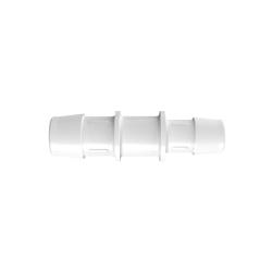 "3/4"" x 5/8"" Tube ID Natural Polypropylene Reduction Coupler"