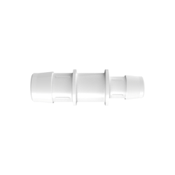 "1"" x 3/4"" Tube ID Natural Polypropylene Reduction Coupler"