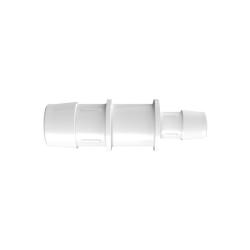 "1"" X 5/8"" Tube ID Natural Kynar® Reduction Coupler"