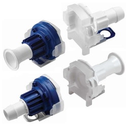 "AseptiQuik® X Large Format 1"" Connectors"
