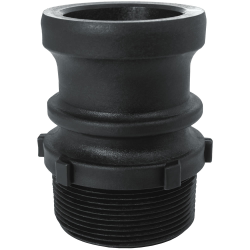 GatorLock® Polypropylene Male Thread Adapters