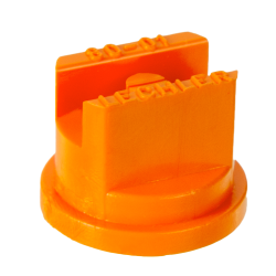 ISO Size 01 Orange 80° Standard Flat Spray Nozzle