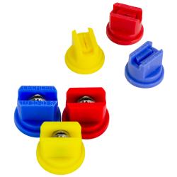 80° Multi Range Flat Spray Nozzles & Cap