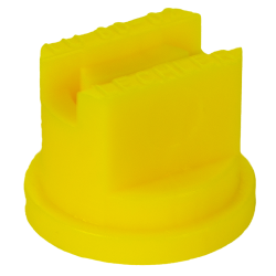 ISO Size 02 Yellow 80° Multi Range Flat Spray Nozzle
