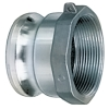 "2"" Male Adapter x 2"" FNPT  Aluminum Coupling"