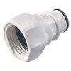 "3/4"" FGHT HFC 35 Series Polysulfone Coupling Insert - Shutoff (Body Sold Separately)"
