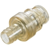 "3/8"" In-Line Hose Barb HFC 39 Series Polysulfone Coupling Insert - Straight Thru (Body Sold Separately)"