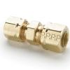 "1/2"" Tube x 1/2"" Tube Brass Compress-Align® Union"